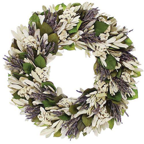 Lavender Song Wreath