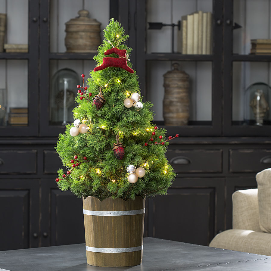 Woodland Deer Christmas Tree for Sale at JP