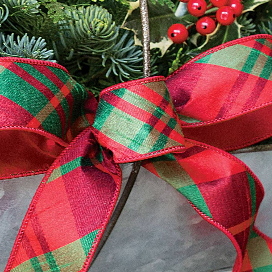 Home For Christmas Trug Centerpiece