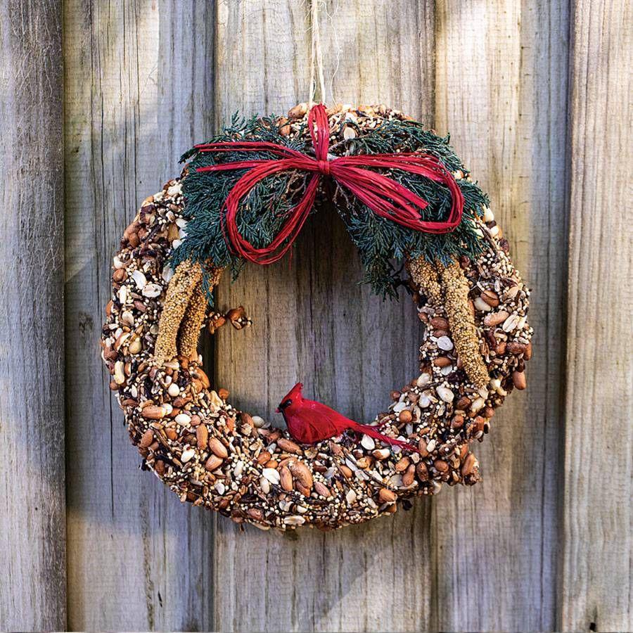 Birdseed Wreath 6-inch Image