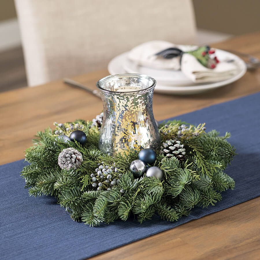 Frosted Woods Centerpiece Image