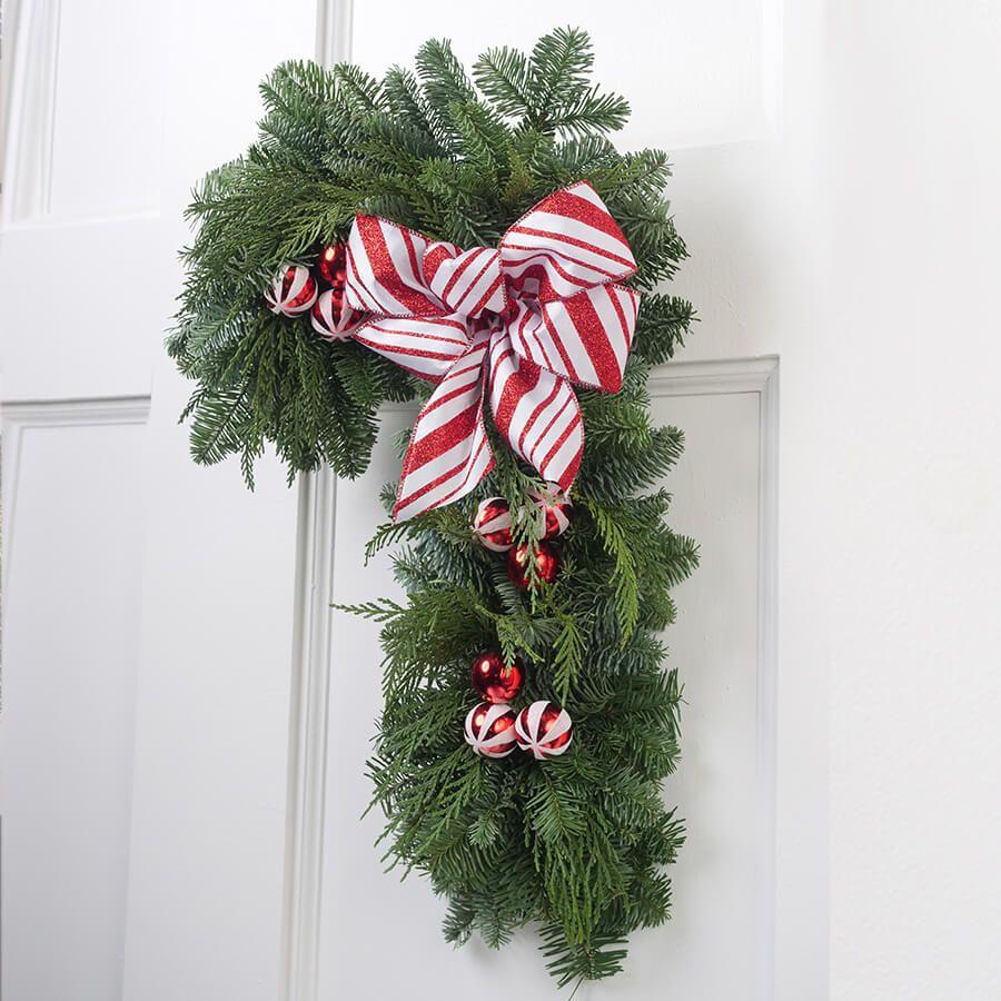 Candy Cane Lane Wreath Image