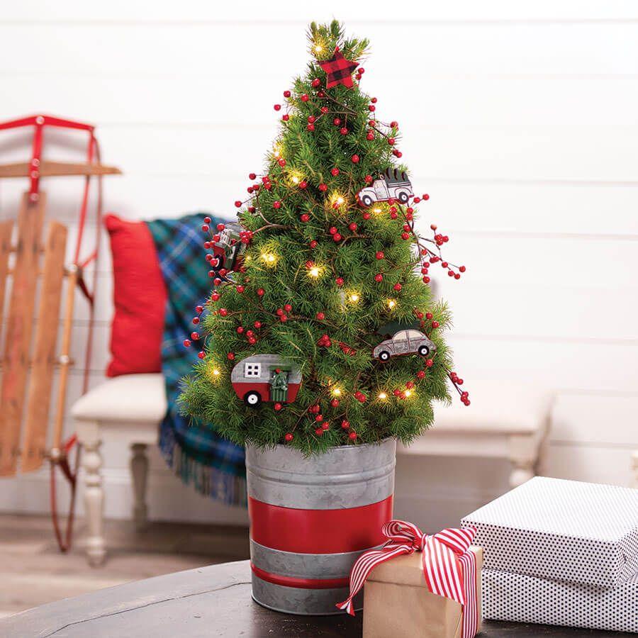 Holiday Nostalgia Tree Image