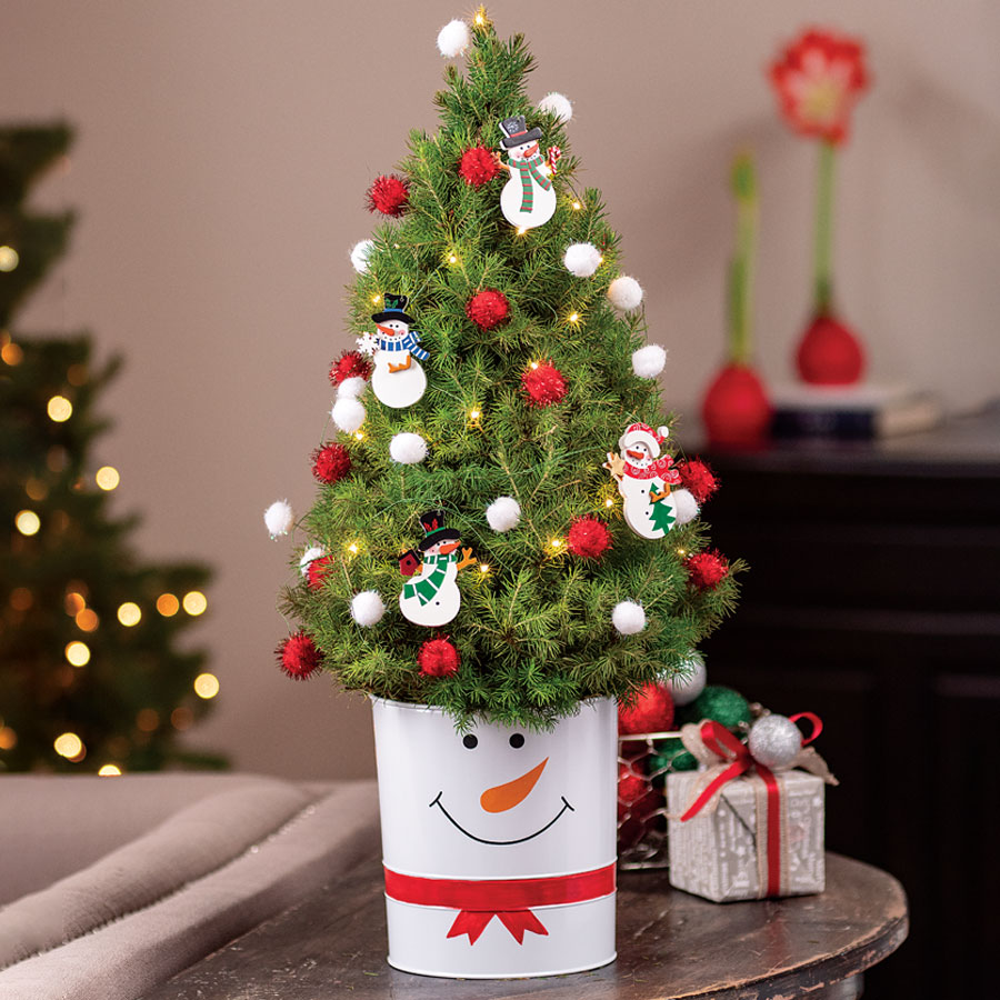 Let It Snow Tree Image