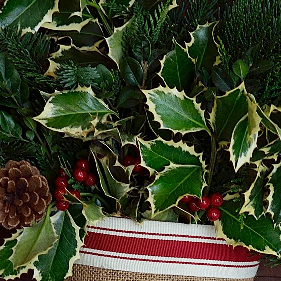 Nostalgic Noble Fir Stocking