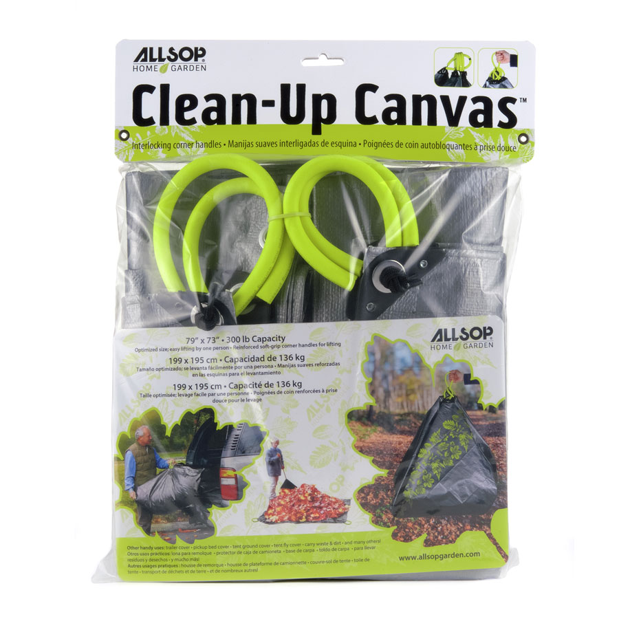 Allsop Clean-Up Canvas Tarp with Handles Image