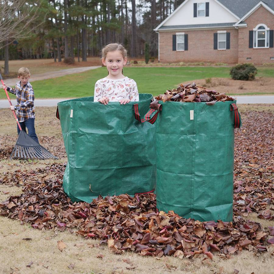 Garden Waste Bags Lawn Leaf Bag 32 Gallons