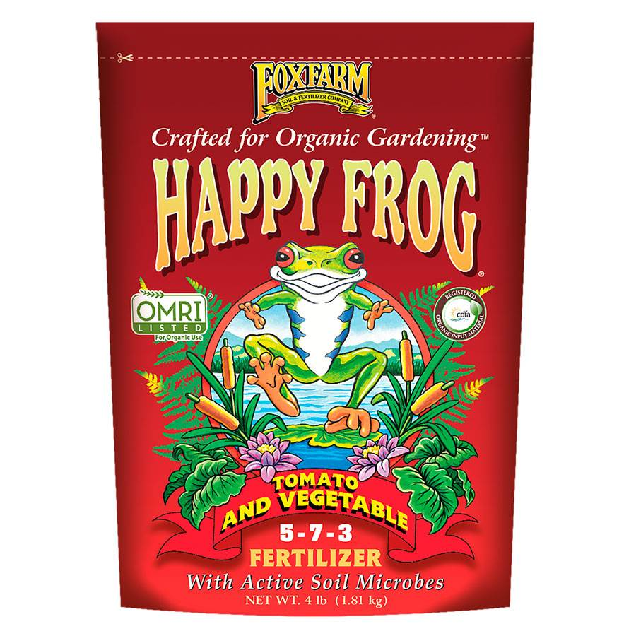FoxFarm Happy Frog® Tomato & Vegetable Fertilizer Image