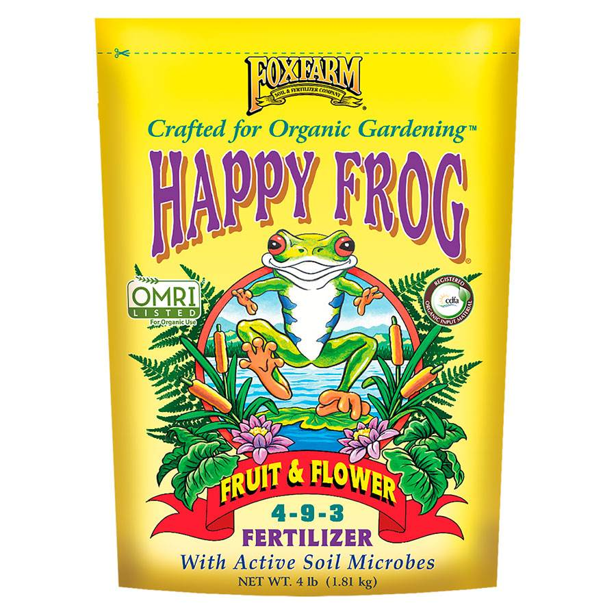 FoxFarm Happy Frog® Fruit & Flower Fertilizer Image