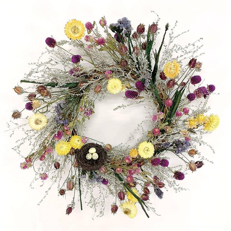 Spring Nest Wreath Image