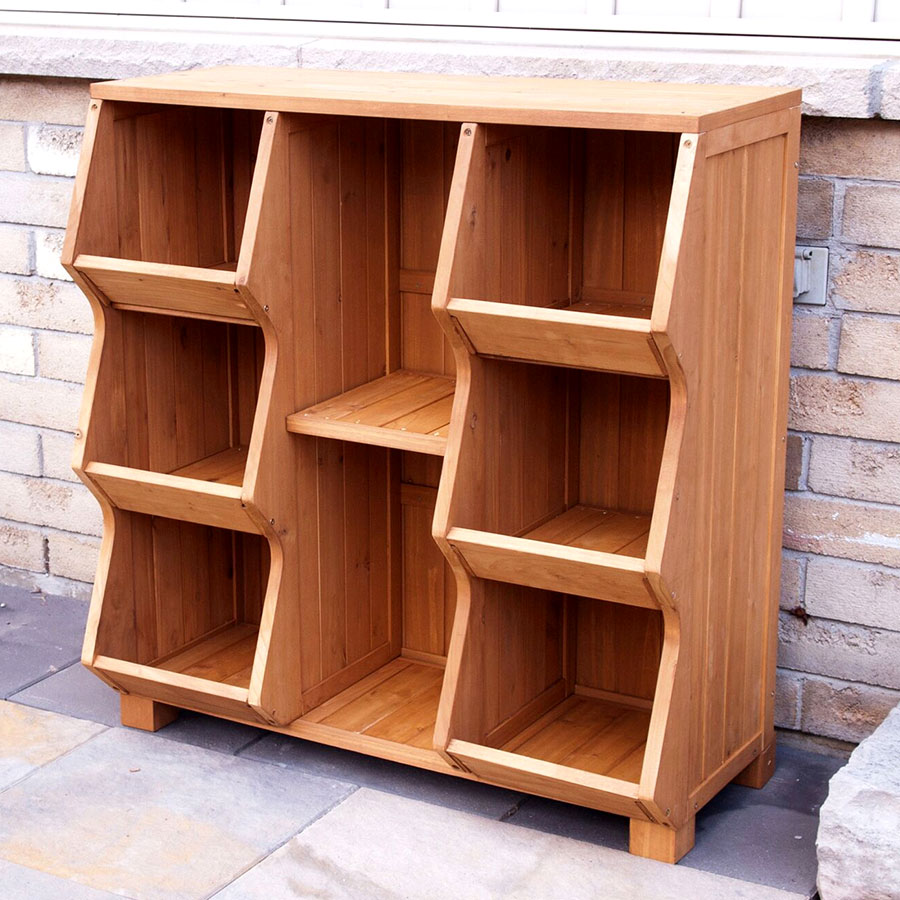6 Compartment Storage Cubby