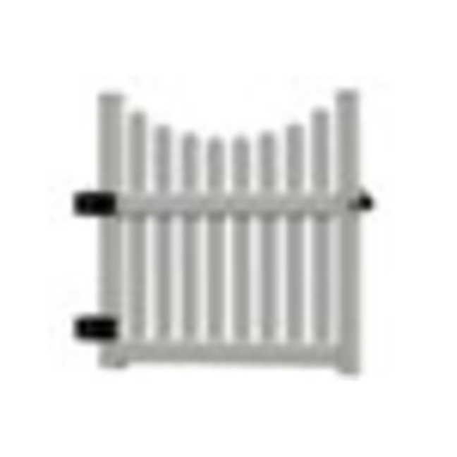 Nantucket Cottage Picket Gate
