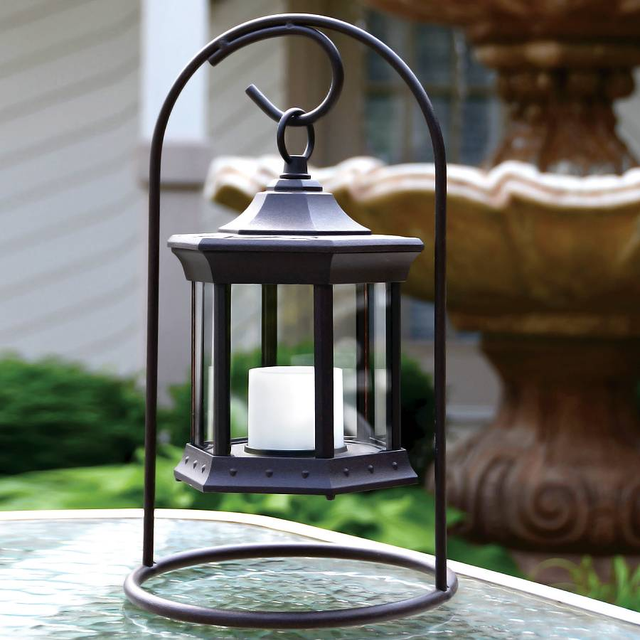 Arch Tabletop Solar Lantern Zoom Image Touch To 36162 Jpg