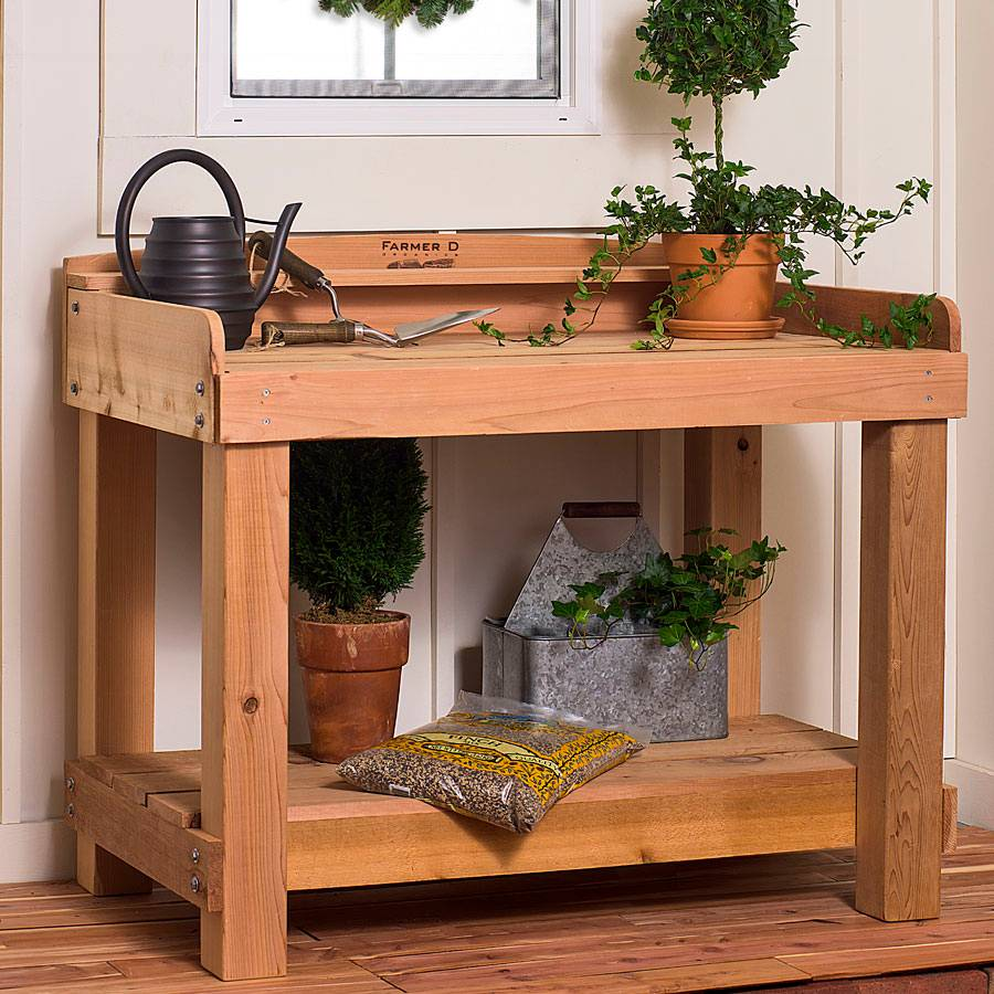 Bon Deluxe Potting Bench
