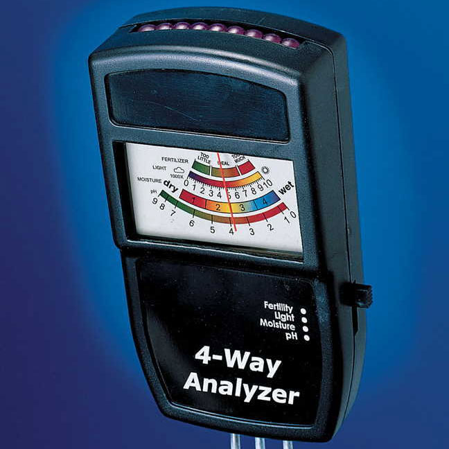 Electronic 4-Way Soil Analyzer Image