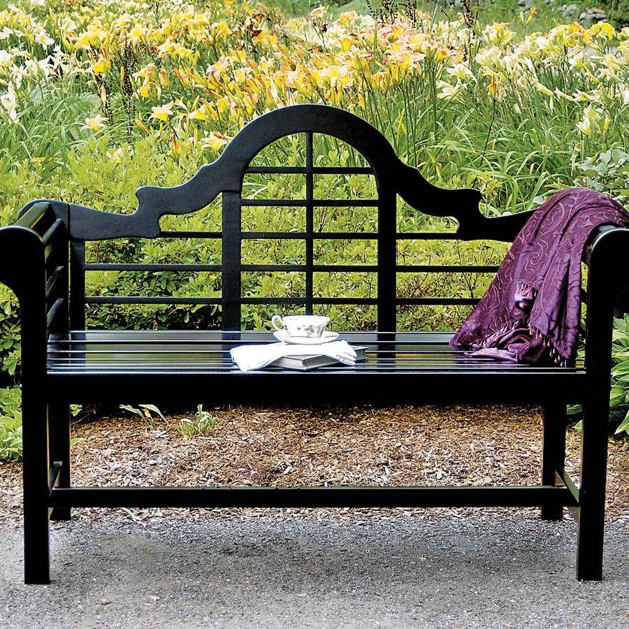 Outdoors And Gardening: Lutyens Garden Bench From Jackson & Perkins