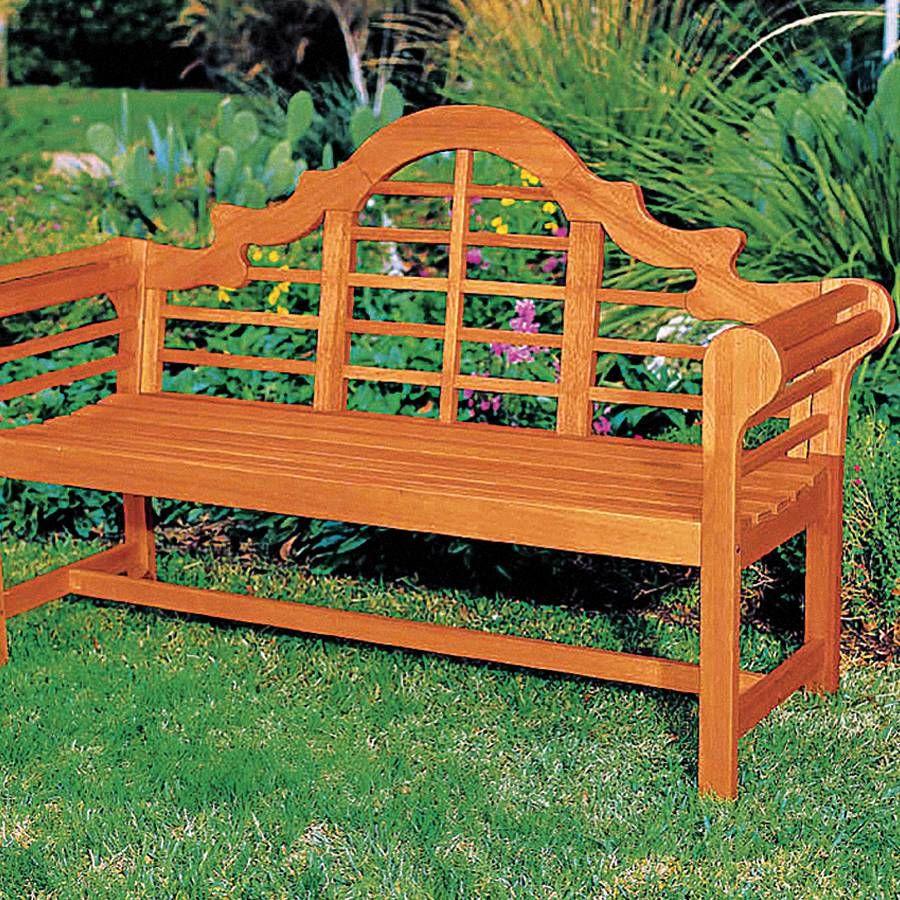 Lutyens Garden Bench From Jackson Perkins