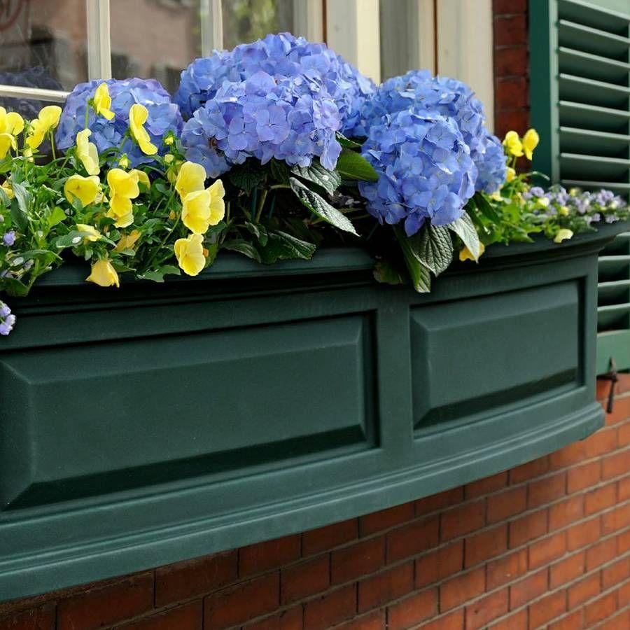 Nantucket Window Box-Green