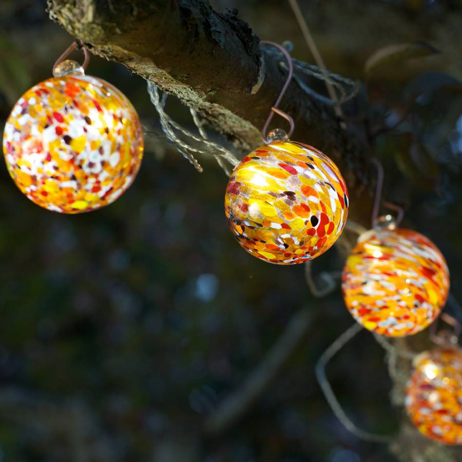 Ordinaire Solar Glass String Lights