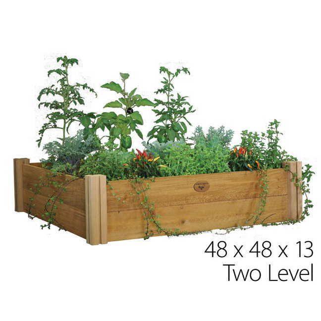 Modular Raised Garden Bed