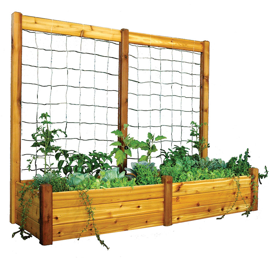 raised garden bed trellis kit - Garden Bed